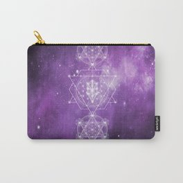 Sacred Geometry - We are Stardust Carry-All Pouch