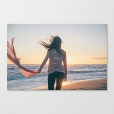For we're like creatures of the wind, and wild is the wind  Canvas Print