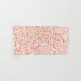 Berlin map Hand & Bath Towel