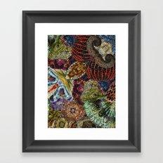 Psychedelic Botanical 7 Framed Art Print