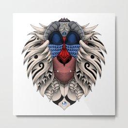 Ornate Rafiki Vol. 2 Colored Metal Print
