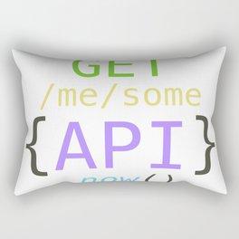 GET me some apis now Rectangular Pillow