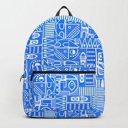 GeoPrint Pattern Backpack