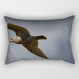 Storm Chaser - Bird flying in Sky Rectangular Pillow