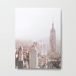 New York City Late Afternoon Metal Print