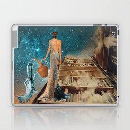 Aquarius and her Books Laptop & iPad Skin