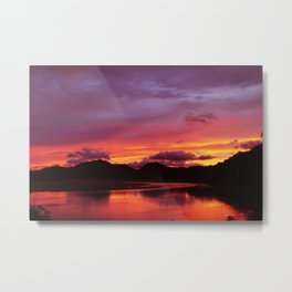 Before The Sun Rises From The West Metal Print