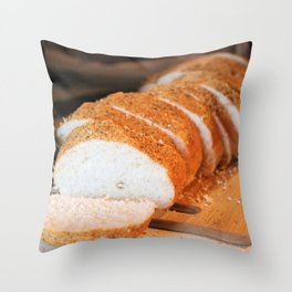 Bread - Beautiful Offering Throw Pillow