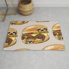 Sloths Burger Rug