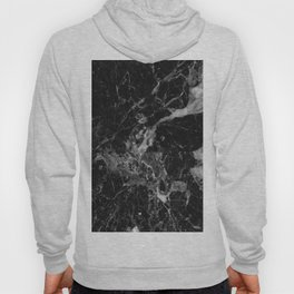 Black and Gray Marble Pattern Hoody