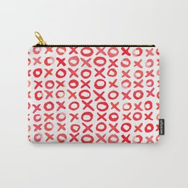 Xoxo valentine's day - red Carry-All Pouch