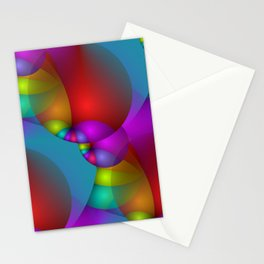 3D abstraction -14- Stationery Cards