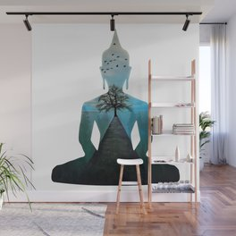 Nature Makes Me Calm Like The Buddha Wall Mural
