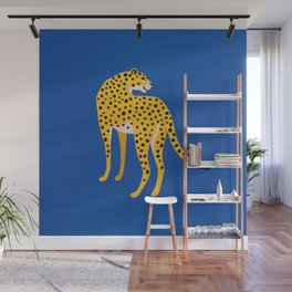 The Stare 2: Golden Cheetah Edition Wall Mural