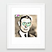 cook Framed Art Prints featuring - cook - by Digital Fresto