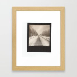 go it alone Framed Art Print