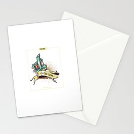 Cartel Leyenda Tatuaje Stationery Cards