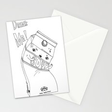 Angry Little Soymilk Stationery Cards