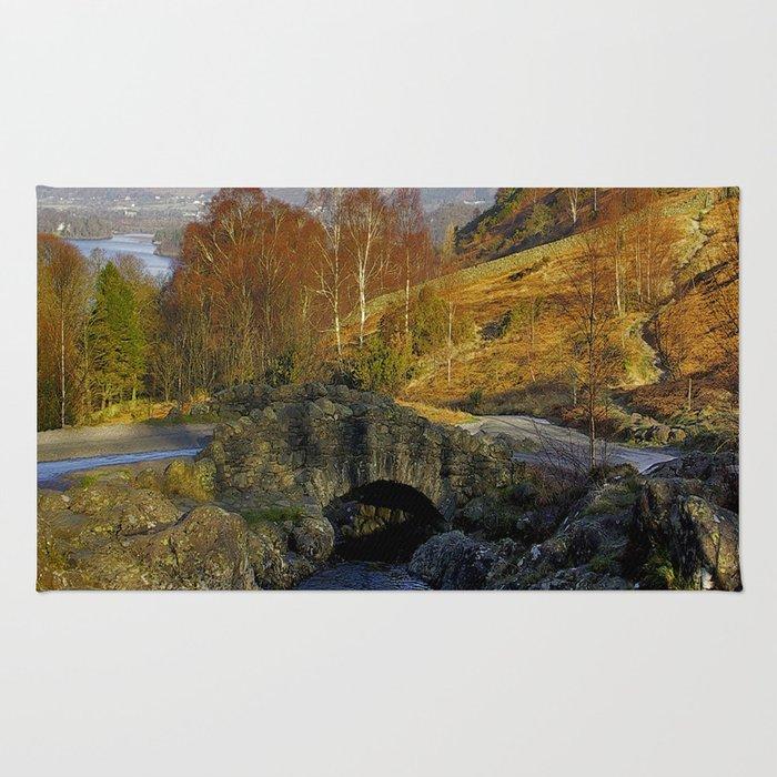 Ashness Bridge  Lake District Rug