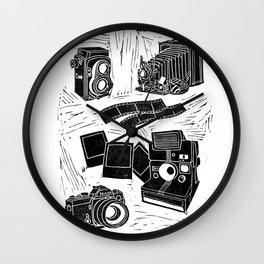 Weapons Of Mass Creation - Photography (blockprint) Wall Clock