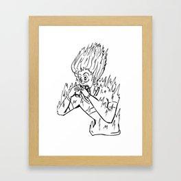 Jolt Framed Art Print