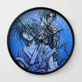 Misao x Aoshi Wall Clock