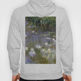 """Claude Monet """"Water lilies""""(2) Hoody"""