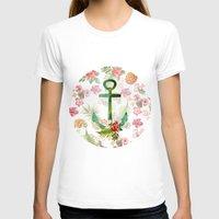 hawaii T-shirts featuring Hawaii Anchor by Mizuki Yokai