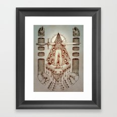Vagamid - Lord of Fish Framed Art Print