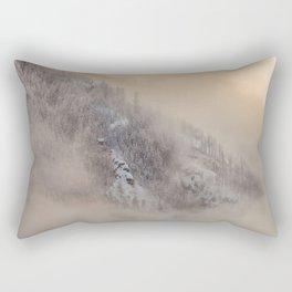 Scene of Winter Rectangular Pillow