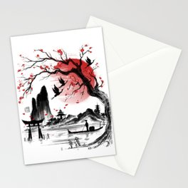 Japan dream Stationery Cards