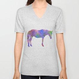 Splatter Pony Unisex V-Neck