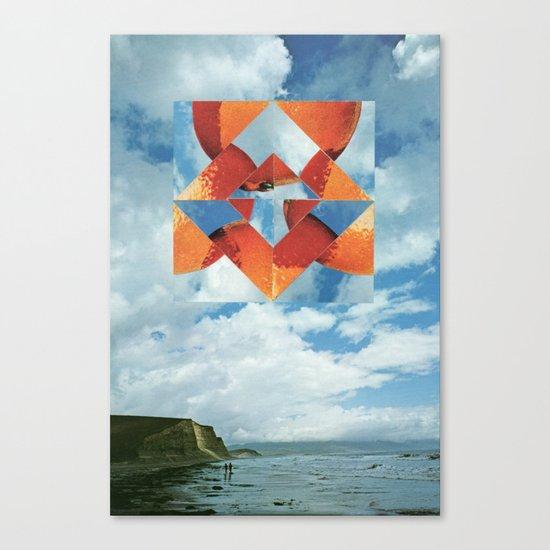 Orange Sky Canvas Print