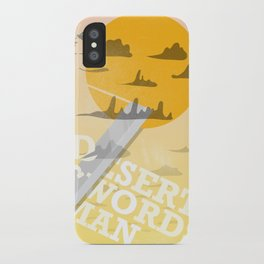 Desert Swordsman iPhone Case