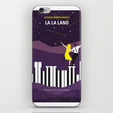 No756 My La La Land minimal movie poster iPhone & iPod Skin