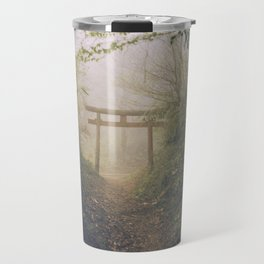 Shrine in Okunoin cemetery of Koyasan, Japan 002 Travel Mug