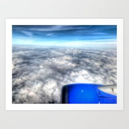 'View From Above' Art Print