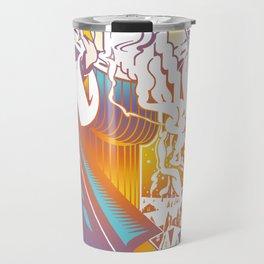 Winter Personified Travel Mug