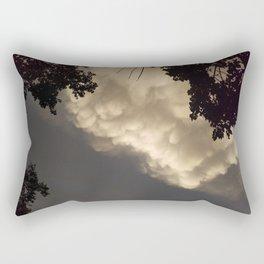 The coming storm Rectangular Pillow