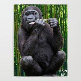 Skin-up Gorilla Poster