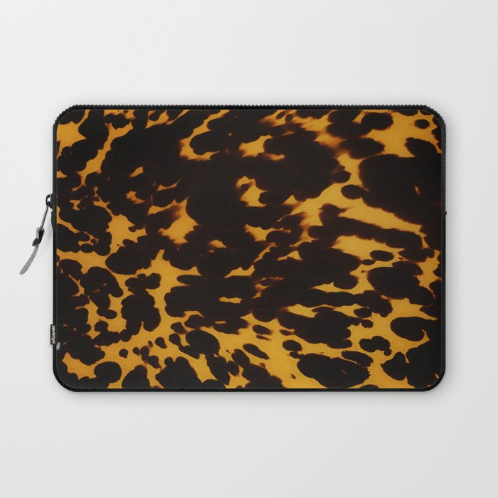 Art Deco polished Tortoise Shell Laptop Sleeve