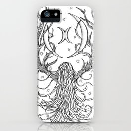 Forest Moon iPhone Case