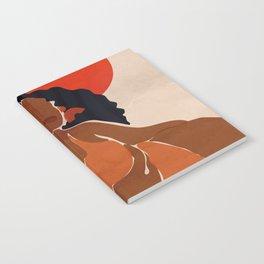 Red Sun Notebook