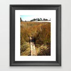 Beaufort, SC Framed Art Print