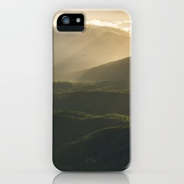 Sunrise in North Georgia Mountains 4 iPhone Case