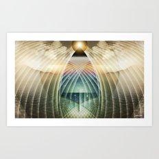 ∆ articulate Art Print