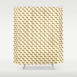 Hot-Dog Pattern Shower Curtain
