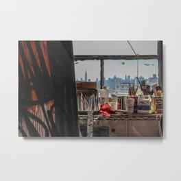 Artist's Studio - Brooklyn, NY Metal Print