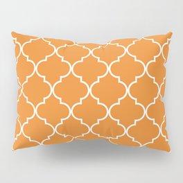 Quatrefoil - Apricot Pillow Sham