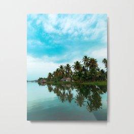 Beautiful Kerala Metal Print